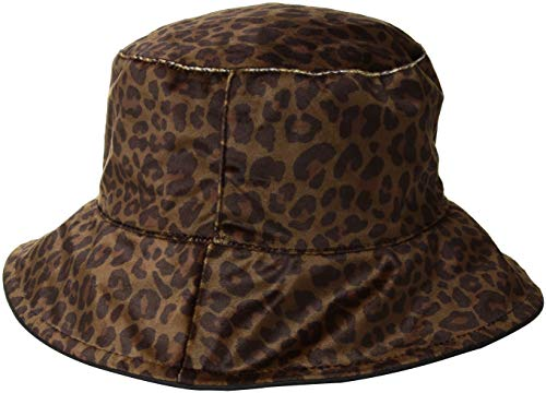 Nine West Women's Velvet REVS RAIN Bucket, Animal Print, one Size