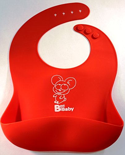 Best BIB Baby Soft Red Mouse