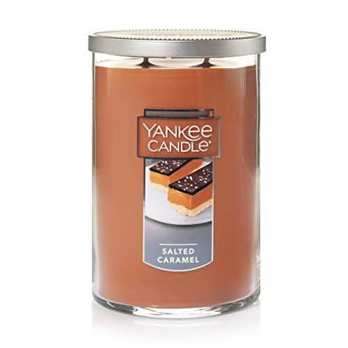 - Yankee Candle Company Salted Caramel Large 2-Wick Tumbler Candle