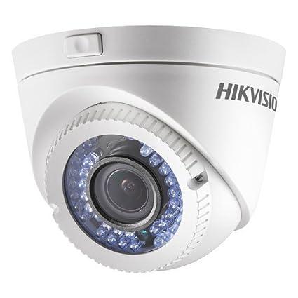 "HiWatch Hikvision - Cámara domo HDTVI - Gama PRO - 1/2.7"" Progressive Scan"