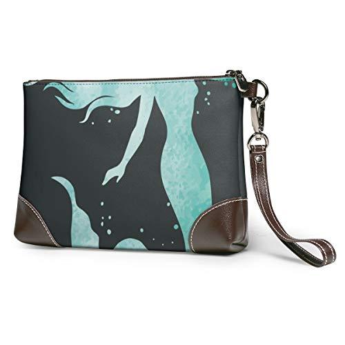 Ocean Mermaid Silhouette...