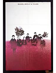 Blood Sweat and Tears self titled 1968 New Albums Promo Vintage Poster 22 x 33