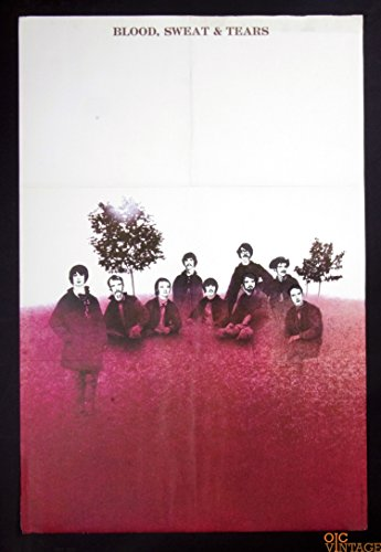 Blood Sweat and Tears self titled 1968 New Albums Promo Vintage Poster 22 x (1968 Promo Poster)