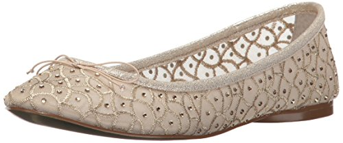 Adrianna Papell Ballet De Natalia Womens Plat Or Ruche Maille