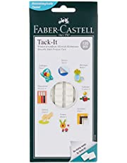 Faber-Castell GW187093 120-Pieces Tack-it Adhesive, White, 75 g