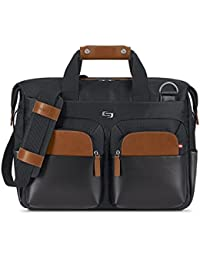 Sag Harbor 15.6 Laptop Briefcase, Black