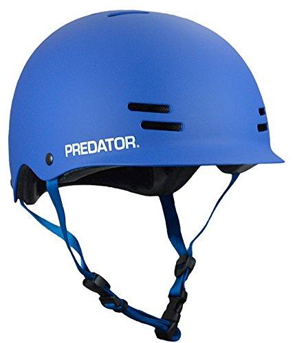 Predator FR7 Certified Skateboard Helmet, Matte Blue, Size XL by Predator (Image #1)
