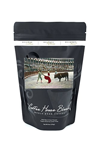 Spain - View of a Matador About to Slay the Bull (8oz Whole Bean Small Batch Artisan Coffee - Bold & Strong Medium Dark Roast w/Artwork) by Lantern Press