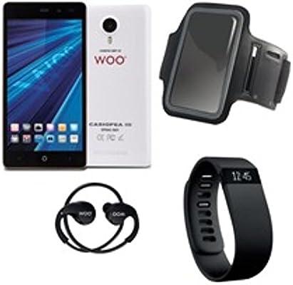 Woo - Telefono movil Smartphone casiopea 3 Blanco 5