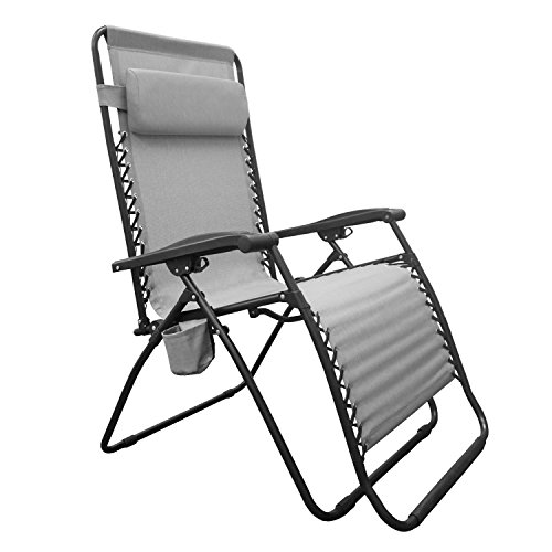 Cheap Caravan Sports BGC01121 Infinity Big Boy Zero Gravity, Gray Lounge Chair