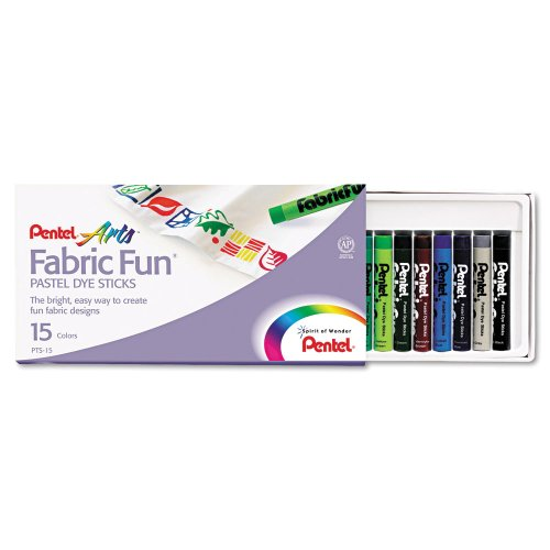 PENPTS15 - Pentel Arts PTS-15 Crayon (Crayons Fabric Pentel)