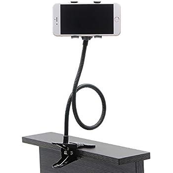 Amazoncom Auxo Fun Lazy Bracket Bed Phone Holder Universal Mobile