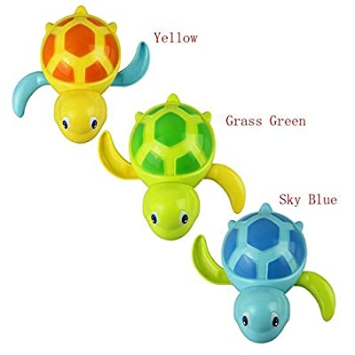 Baby Cute Swimming Turtle Bathing Bath Swimming Tub Bathtub Pool Cute Swimming Turtle Toys for Boys Girls,Set of 3 by King of Toys that we recomend individually.
