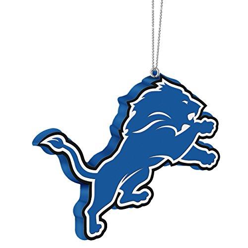 NFL Detroit Lions Resin Logo Ornament