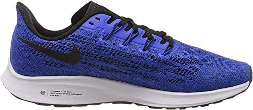 41hSrZKu0YL. AC Nike Men's Air Zoom Pegasus 36 Running Shoes    The new Pegasus continues to amaze: increased technical content and Stellar comfort.