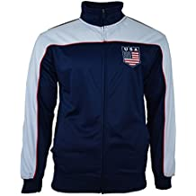 Rhinox USA US Jacket Adult Track Soccer Adult Sizes Soccer Football