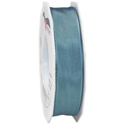Morex Ribbon French Wired Lyon Ribbon, 1-Inch by 27-Yard Spool, Williamsburg Blue