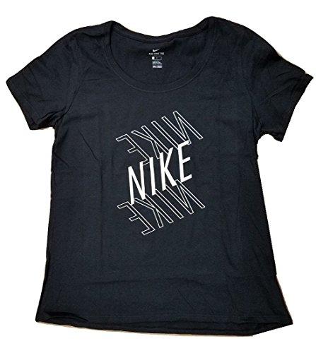 NIKE Women's Swoosh Short Sleeve T-Shirt (XL)