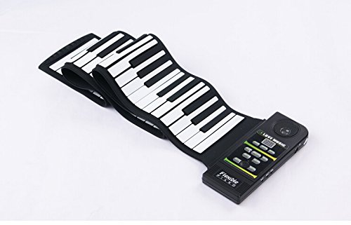 Emperor of Gadgets ® Electronic Piano Keyboard / Silicon Flexible Roll up Piano with Loud Speaker and Foot Pedal(88 Key)