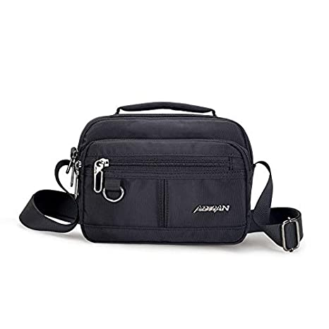 Amazon.com: Fashion Men Handbag Waterproof Nylon Messenger ...
