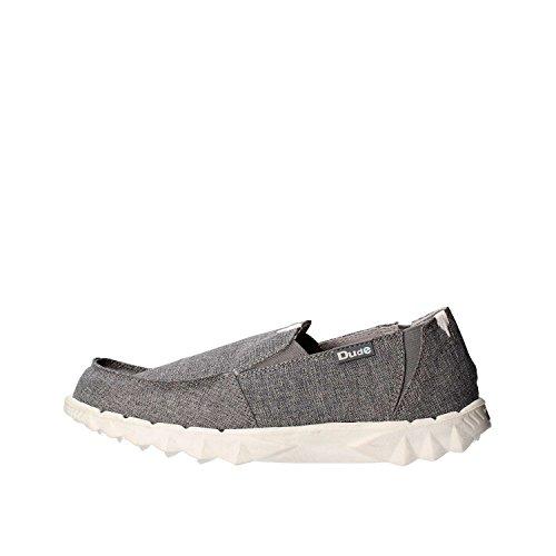 Shoes grigio Dude Grey uomo Fumo Mocassini apw07dq