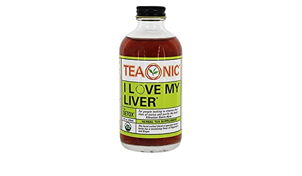 Amazon.com : Teaonic Tea Herbal Love My Liver, 8 oz : Grocery & Gourmet Food