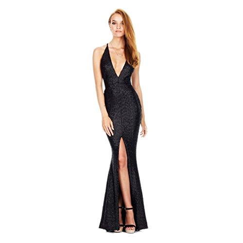 JBZYM VD77797C1 Sexy Halter Women Dress - Size M