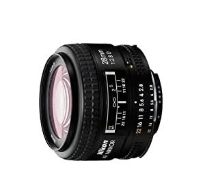 Nikon AF FX NIKKOR 28mm f/2.8D Fixed Zoom Lens with Auto Focus for Nikon DSLR Cameras