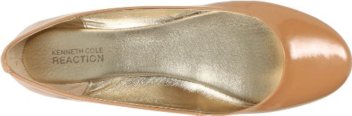 Reazione Donne Kenneth Cole Slip On Di Balletto Piatto Cammello Pa