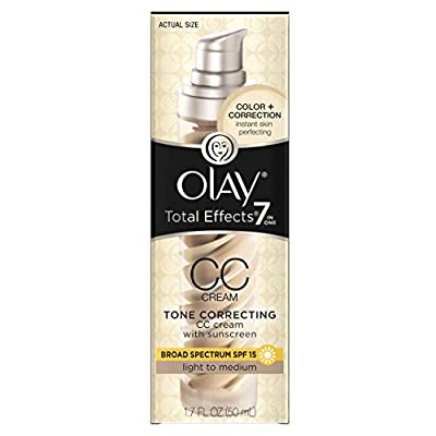 Olay Total Effects Fragrance Free Featherweight Moisturizer with SPF 15, 1.7 Fluid Ounce