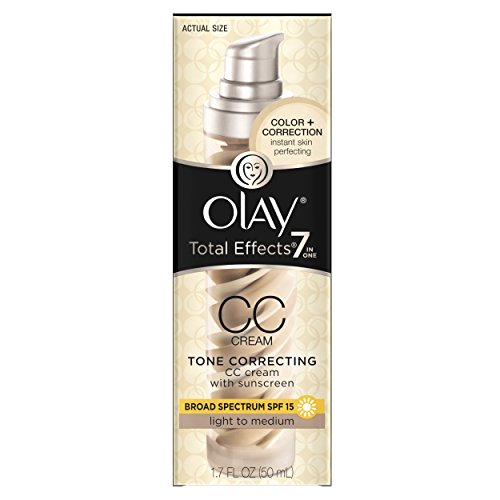 Olay Total Effects 7-In-1 Tone Correcting Uv Moisturizer Light To Medium 1.7 Fl Oz