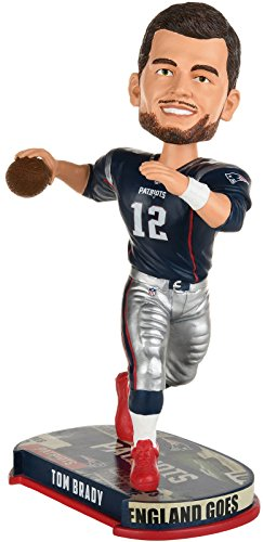 New England Patriots Tom Brady #12 Headline Bobblehead