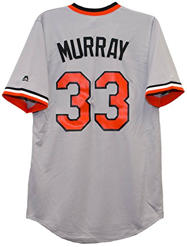 Eddie Murray Baltimore Orioles Cool Base Road Cooperstown Jersey (Small)