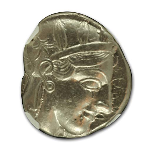 400 GR Attica, Athens Silver Tetradrachm Owl (440-404 BC) XF NGC (1/4) Extremely Fine NGC