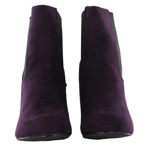Footwear Sensation - Botines chelsea mujer púrpura - morado
