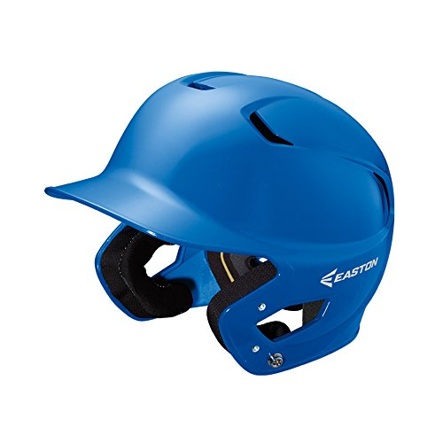 (EASTON Z5 Batting Helmet | Junior | Royal | Baseball Softball | 2019 | Dual-Density Impact Absorption Foam | High Impact Resistant ABS Shell | Moisture Wicking BioDRI Liner)