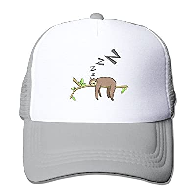 Sleeping Sloth Men Women Adjustable Snapback Hats Hip Hop Caps | Baseball Caps Mesh Back