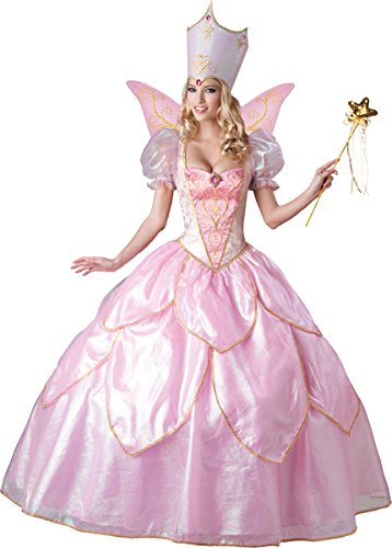InCharacter Costumes Women's Fairy Godmother Costume, Pink, Large