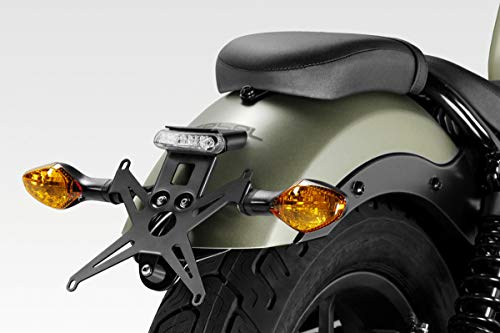 Windscreen Exential DPM - 100/% Made in Italy De Pretto Moto Accessories CMX500 Rebel 2017 Easy to Install - Aluminium Windshield Fairing S-0799