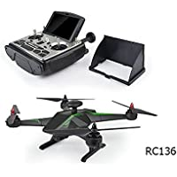 RC Leading Auto Follow 5.8G RC Quadcopter with 6-axis gyro/Light/1080P HD camera/FPV/ Double GPS
