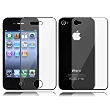 Dynamic - Front & Back Anti-glare Screen Protector Guard File for Apple Iphone 4 4s