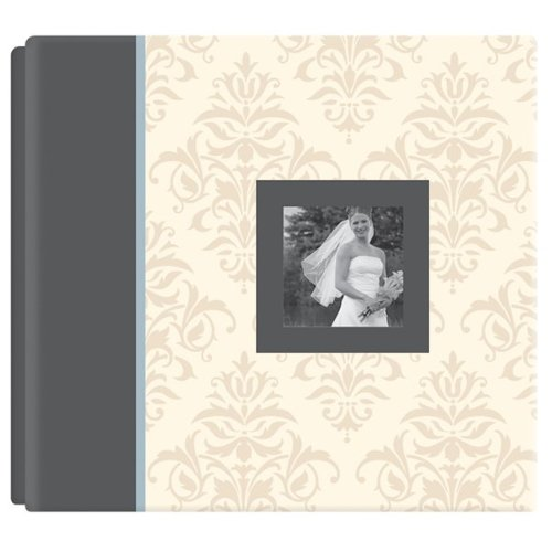American Crafts 12-Inch by 12-Inch A Story of Us Postbound Album - Album Scrapbook 12' Embossed