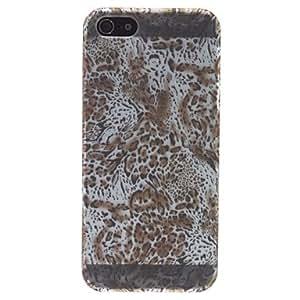 comprar Caso duro del patrón del grano del tigre para el iphone 5/5s