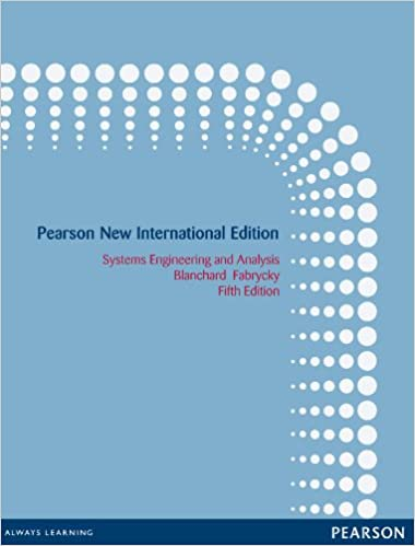 Systems engineering and analysis pearson new international edition systems engineering and analysis pearson new international edition 5th edition kindle edition fandeluxe Image collections