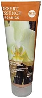 product image for Desert Essence Organics Body Care Hand and Body Lotion, Spicy Vanilla Chai , 8-Ounces