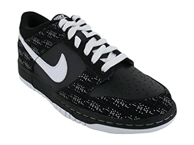 3365c72a2ec50 310569-008 NIKE DUNK LOW GS GRADE SCHOOL SHOES BLKNTRL GRY VRSY RYLSPRT RD  Black   White 7 M US Big Kid  Amazon.in  Shoes   Handbags