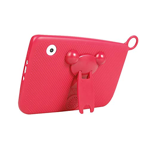 """Aobiny Children's Tablet,Newest 7""""INCH Kids Android 4.4 Tablet PC Camera Quad CORE HD WiFi, for Children (Hot Pink) by Aobiny (Image #2)"""