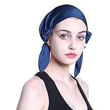 100% Silk Chemo Fashion Scarf Turban Headwear for Cancer Patients