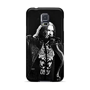 Shock-Absorbing Hard Cell-phone Case For Samsung Galaxy S5 (svs1249ooBs) Custom Realistic Dream Theater Band Image