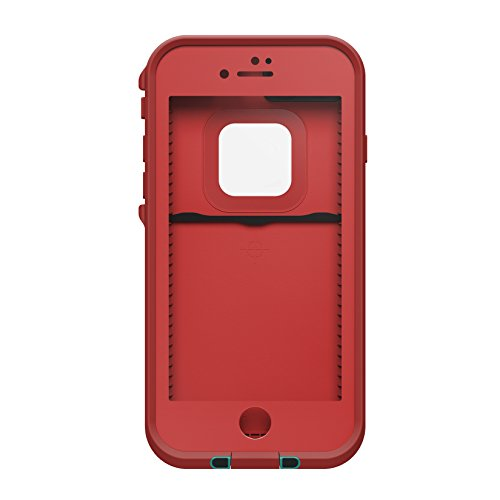 LifeProof 77-53991 Lifeproof FRE Series Waterproof Case for iPhone 7 (ONLY)  - Retail Packaging - Ember RED (Race RED Flame RED Light Teal) - KAUF. 42004d358